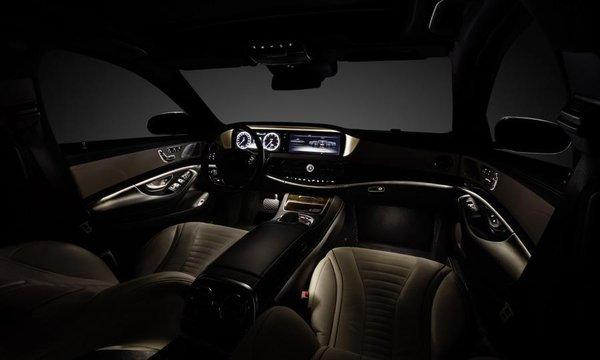 Noul Mercedes S Class 2013 interior