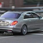 Noul Mercedes S Class 2013 spate
