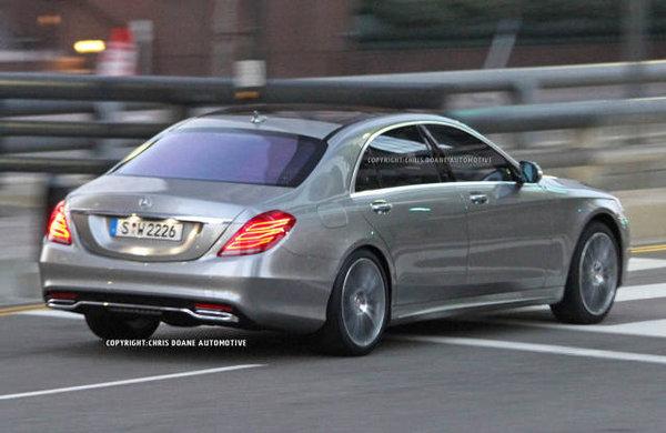 Noul Mercedes S Class 2013: primele poze fara camuflaj