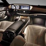 Noul Mercedes S class interior