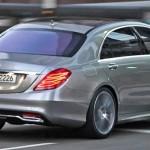 Noul Mercedes S class spate