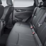 Noul Nissan Qahqai 2 interior spate