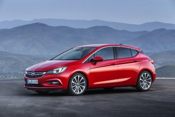 Noul Opel Astra 2015 poze