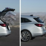 Noul Opel Astra Sports Tourer 2015 deschidere automata a haionului