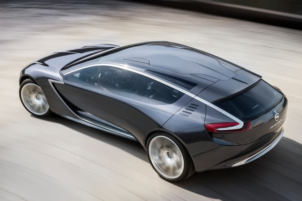 Noul Opel Calibra - inspirate de conceptul Monza 2