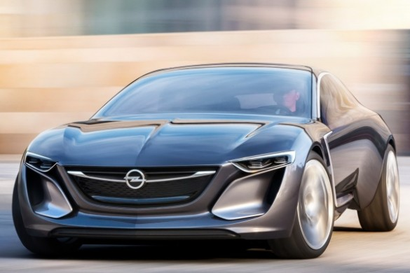Noul Opel Calibra - inspirate de conceptul Monza