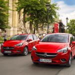 Noul Opel Corsa 2015 in motion