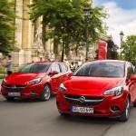 Noul Opel Corsa 2015 in motion