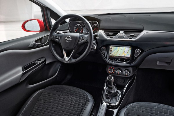 Noul Opel Corsa 2015 interior