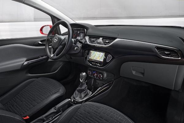 Noul Opel Corsa interior