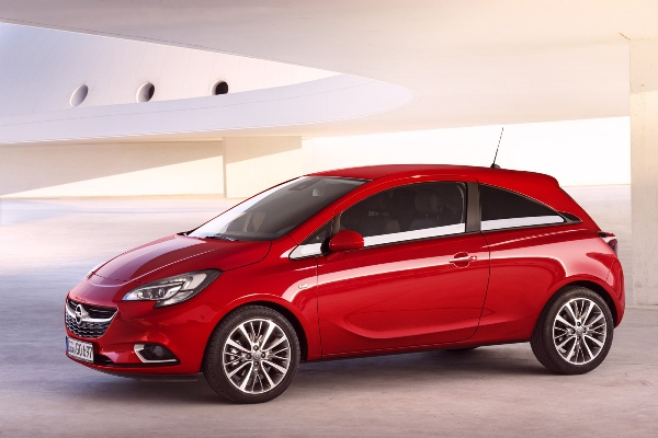 Noul Opel Corsa lateral