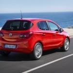 Noul Opel Corsa rear view