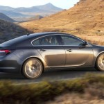 Noul Opel Insignia 2013 facelift lateral