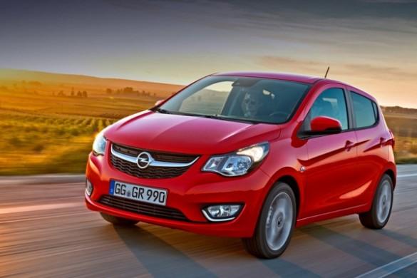 Noul Opel Karl 2015 foto si preturi
