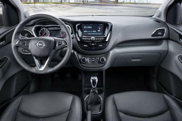 Noul Opel Karl 2015 interior