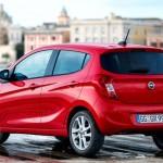 Noul Opel Karl 2015 spate