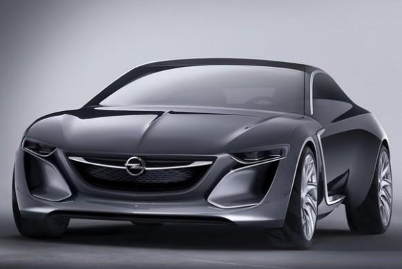 Noul Opel Monza fata