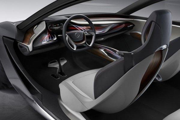 Noul Opel Monza interior