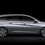 Noul Peugeot 308 SW 2014 lateral