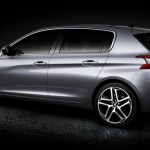 Noul Peugeot 308 2014 lateral