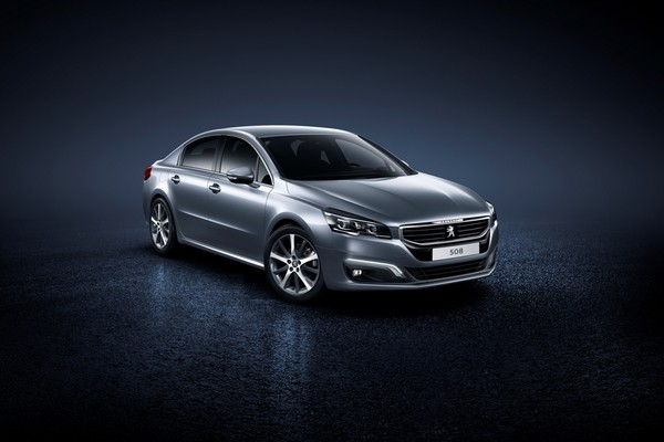 Noul Peugeot 508 2014 facelift imagine oficiala