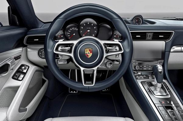 Noul Porsche 911 Carrera 2015 foto interior