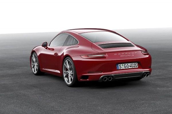 Noul Porsche 911 Carrera S 2015 spate poze