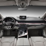 Noul Q7 2015 imagine interior fata