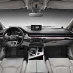 Noua generatie a lui Audi Q7 interior