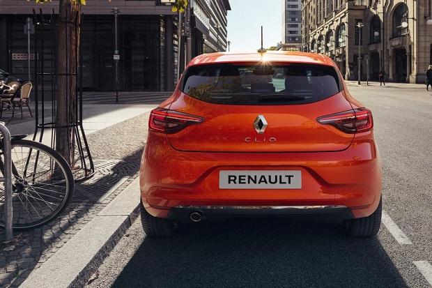Noul Renault Clio 2019 spate
