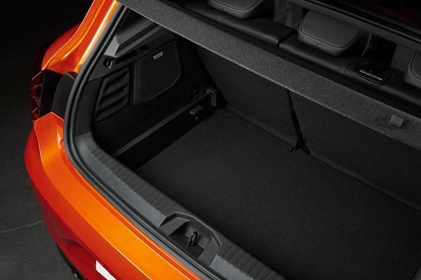 Noul Renault Clio 5 portbagaj