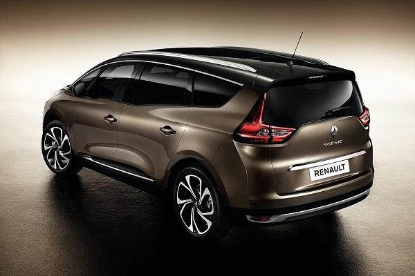 Noul Renault Grand Scenic 2016 foto spate