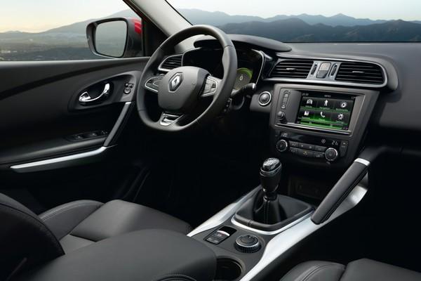 Noul Renault Kadjar interior