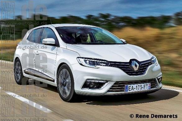 Noul Renault Megane 2015
