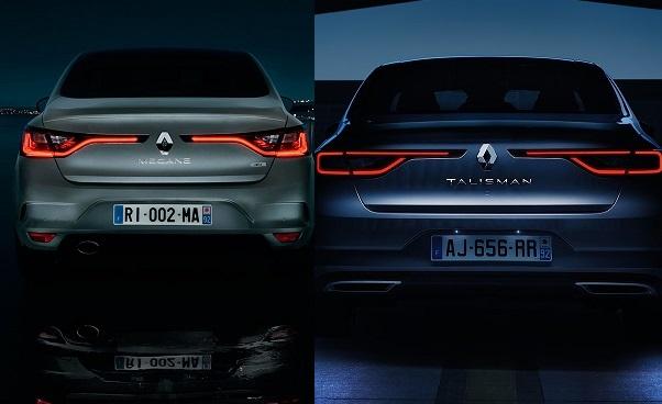 Noul Renault Megane sedan spate