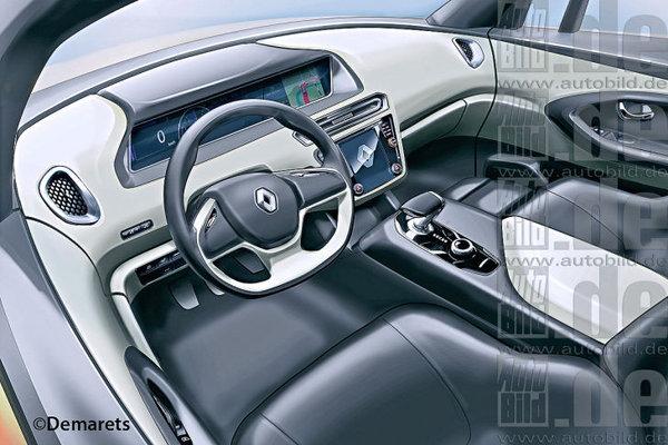 Noul Renault Scenic 2015 interior
