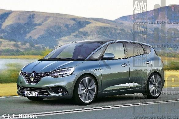 Noul Renault Scenic 2016 foto Autobild