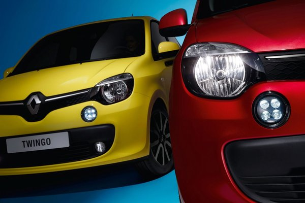 Noul Renault Twingo 2014 fata