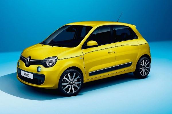 Noul Renault Twingo 2014 yellow