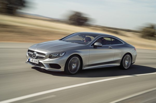 Noul S-Class Coupe 2014 in motion