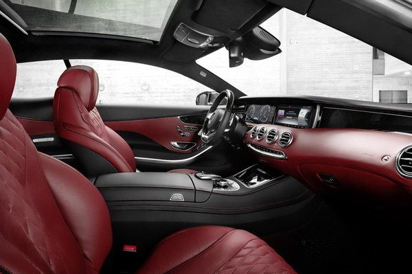 Noul S-Class Coupe 2014 interior 2