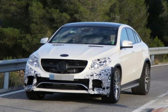 Noul SUV Mercedes GLE Coupe pentru 2015