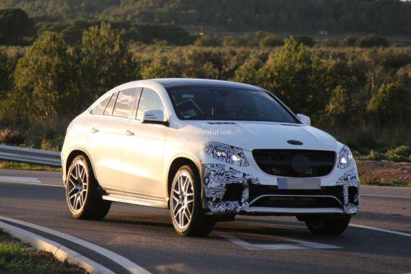 Noul SUV Mercedes GLE Coupe pentru 2015 este asteptat la Detroit
