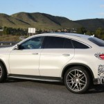 Noul SUV Mercedes GLE Coupe pentru 2015 lateral