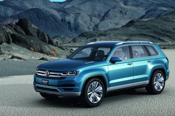 Noul SUV Volkswagen - conceptul CrossBlue