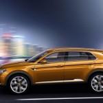 Noul SUV Volkswagen - conceptul CrossBlue lateral