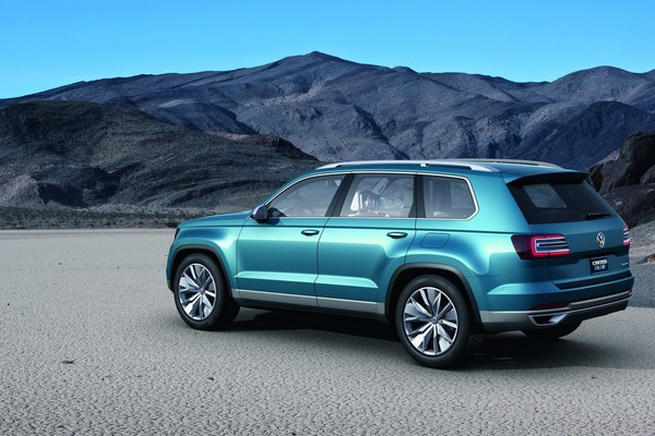 Noul SUV Volkswagen