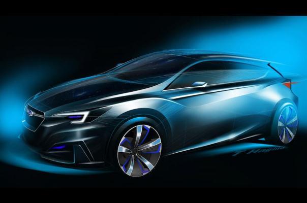 Noul Subaru Impreza 2016 - schite