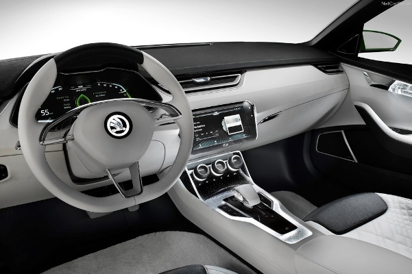 Noul Superb 3 - VisionC interior