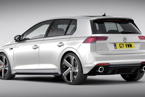 Noul VW Golf 8 GTI imagini Auto Express